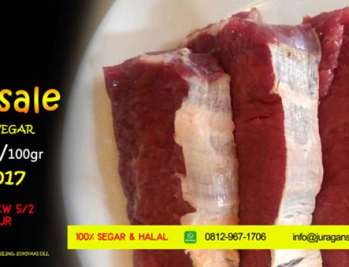 Promo Daging Sapi Segar Week End Sale 2017