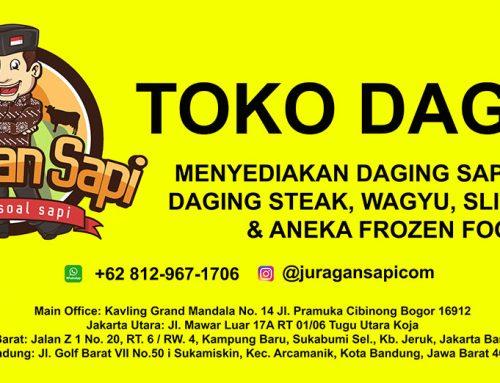 Soft Opening Toko Daging Juragansapi.com di Bandung
